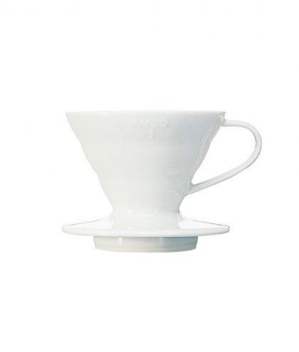 Hario - Kaffeefilter V60 Keramik weiß (VDC-01W)