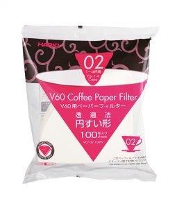 Hario - Papierfilter 100 Stück (VCF-02-100W)