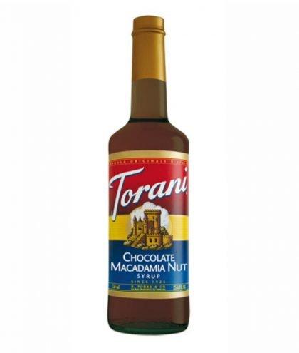 Torani Chocolate Macadamia