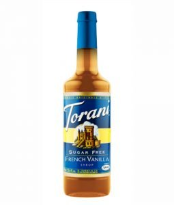 Torani - French Vanilla zuckerfrei 750ml