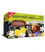 Grüner Tee mit Zitrone und Jasmin