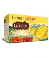 Kräuter Tee mit Zitrone