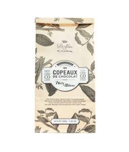 Dolfin Trinkschokolade flocken 60 schwarz u. weiß
