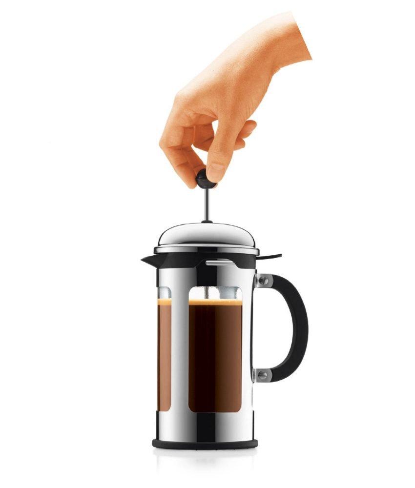 bodum chambord kaffeebereiter mit auslaufschutz. Black Bedroom Furniture Sets. Home Design Ideas