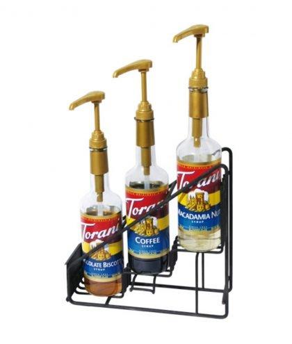 Torani - Regal für 3 Sirup Flaschen