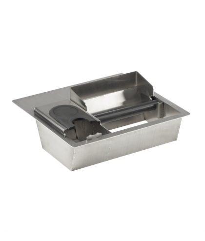 Abschlagbehaelter Counter top combi