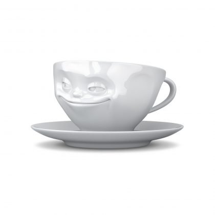 Fiftyeight - Kaffee Tasse grinsend