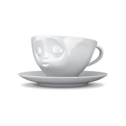 Fiftyeight - Kaffee Tasse küssend