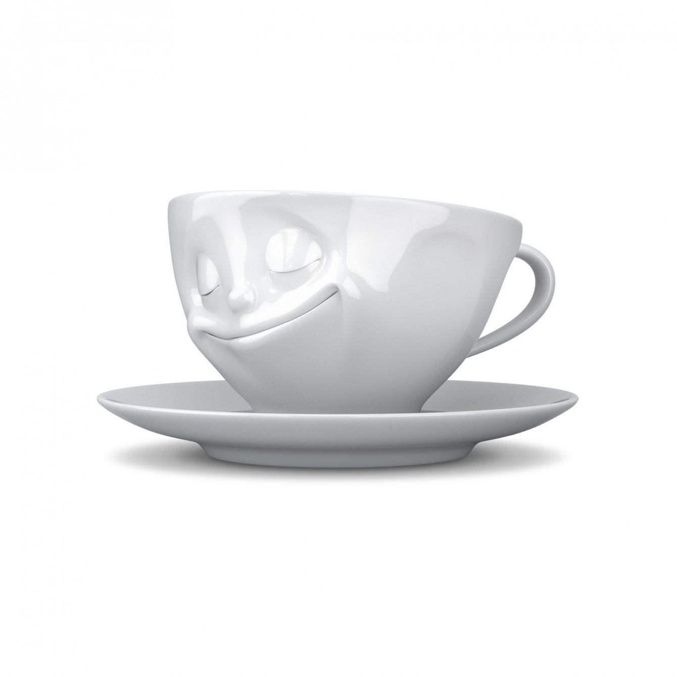 fiftyeight kaffee tasse gl cklich bennett shop. Black Bedroom Furniture Sets. Home Design Ideas
