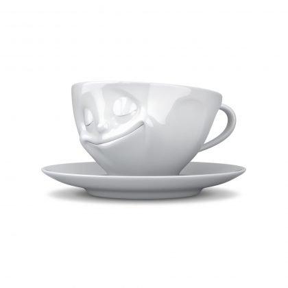 Fiftyeight - Kaffee Tasse glücklich