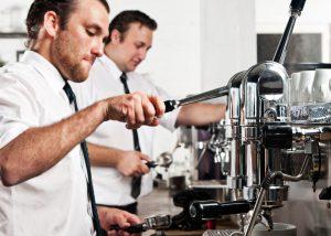 Die Kaffeezubereitung