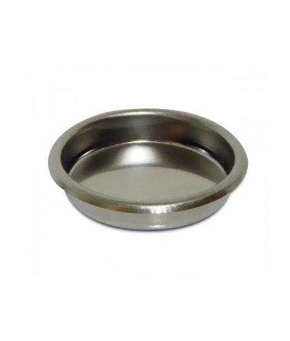 Ein 60mm Blindsieb sieht aus wie ein kleiner Topf oder eine tiefere Pfanne.