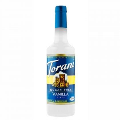 10119 Torani Vanilla zuckerfrei 750ml