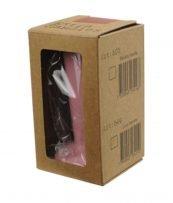 """Abbildung eines Tampergriffs in der Farbe pink, für den """"Espresso Gear"""" Tamper der Reihe """"Luce""""."""
