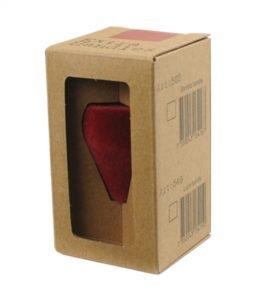 Abbildung eines Espresso Gear Tampergriffs rot beflockt.