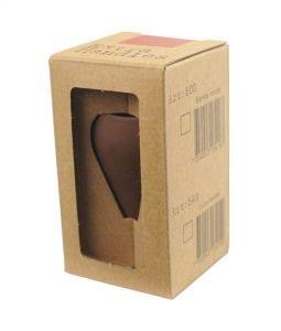 Abbildung eines Espresso Gear Tampergriffs in der Farbe braun