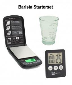 Barista-Starterset mit neuer JoeFrex Waage