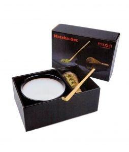 Maoci - Matcha Set weiß-schwarz