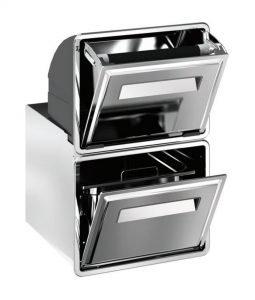 Ronda - Doppel-Kaffeesatzbehälter AG14