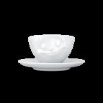 58 Espresso Tasse glücklich von vorne