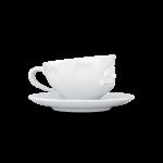 58 Espresso Tasse glücklich von links