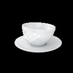 58 Espresso Tassen glücklich von oben