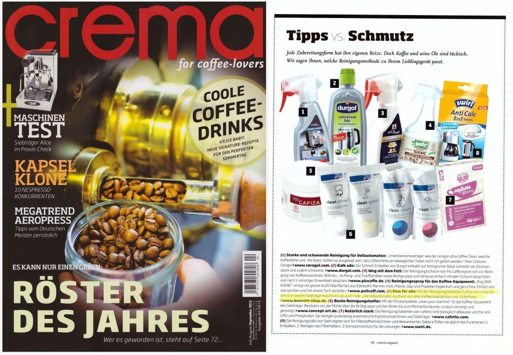 Tipps vs. Schmutz - Urnex