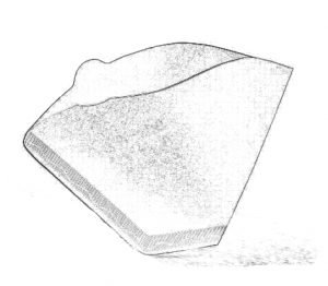 Skizze - Kaffeefilterpapier