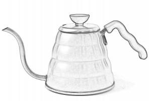 Skizze - HARIO Wasserkessel