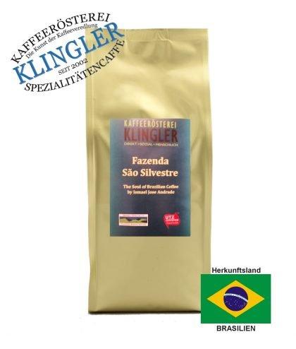 Klingler - Brazil Fazenda Sao Silvestre - neue Etikett