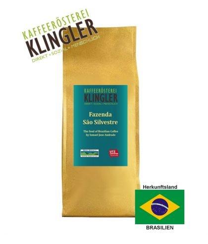 Klingler - Brazil Fazenda Sao Silvestre - 500g Aromapack