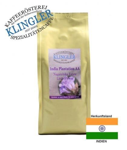Klingler Lagenkaffee - India Plantation AA little flower