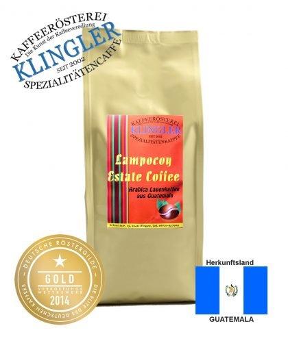 Klingler Lagenkaffee - Lampocoy Real-Estate Arabica