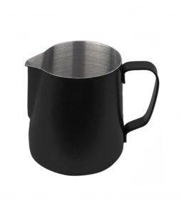 Milchkännchen 350ml - pulverbeschichtet schwarz
