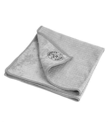 BENNETT - Barista Reinigungstuch aus Mikrofaser in grau