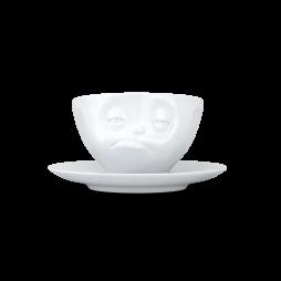 Fiftyeight Kaffeetasse mit einem verpennten Gesicht