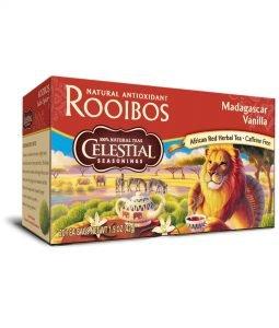 Tee mit Rooibos und Vanille