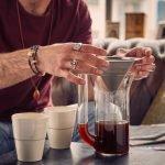 E&B Kaffeefilter System mit Kanne und Edelstahlfilter