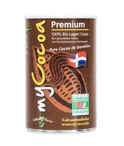 myCocoa Premium Kakao Dose aus der Dominicanischen Republik
