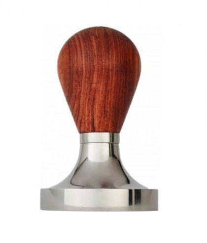 Espresso Gear Barista Tamper 58mm flat - mit Holzgriff