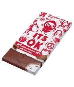 Blömboom - It´s ök. - Vollmilchschokolade 38%