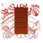 Schokoladentäfelchen Blömboom 38% Vollmilch von vorne