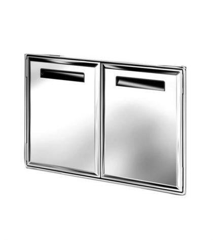 Ronda - Edelstahl Doppeltür AL17 aus der Serie AL1
