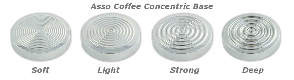 Asso Coffee - Auswahl Concentric Bases
