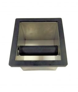 EDO - Knock box bodenlos von oben